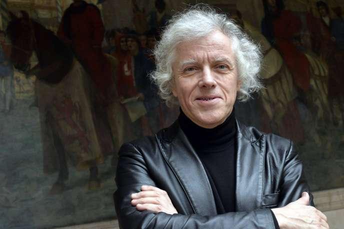 Pascal Ory, professeur d'histoire contemporaine à l'université de la Sorbonne. Le 13 janvier 2014, à Paris