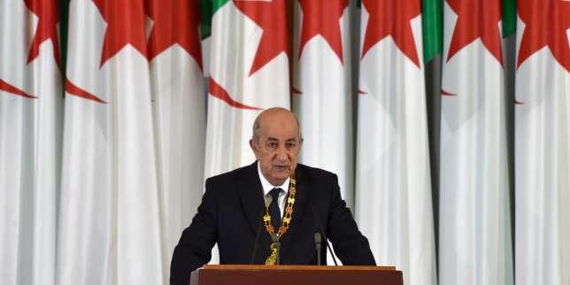 Algérie: le nouveau président Abdelmadjid Tebboune entre enfonctions