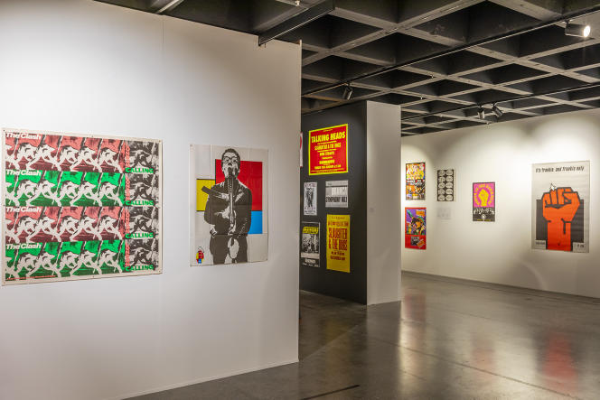 Dans l'exposition «Punk Graphics. Too Fast to live, Too Young to die», jusqu'au 26avril2020 à l'ADAM-Brussels Design Museum.