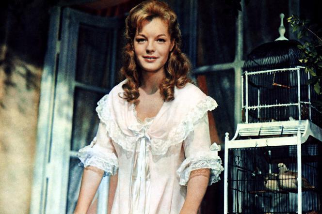 Romy Schneider dans «Christine» en 1958.