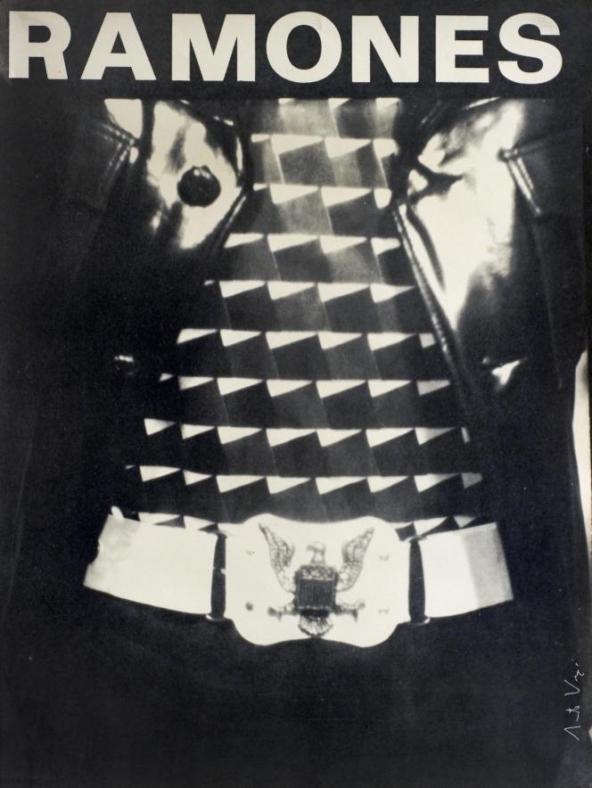 Affiche d'Arturo Vega pour un concert des Ramones au CBGB, à New York, en 1975.