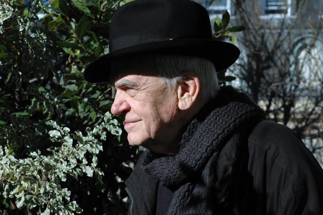 Milan Kundera, à Paris, en février 2009.