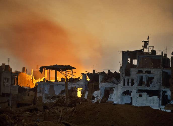 Le conflit avait fait 2251morts chez les Palestiniens, en majorité des civils, et 74 du côté israélien, essentiellement des militaires.