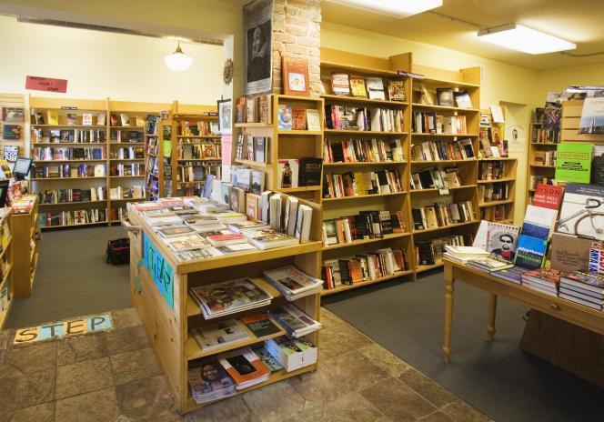 Une librairie de Seattle (Etats-Unis).