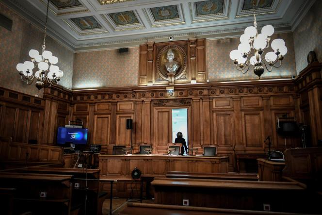 La cour d'appel du Palais de justice de Paris, le 11 décembre.
