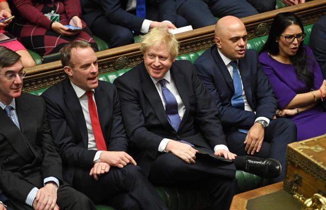 Boris Johnson, le 20 décembre à Westminster.