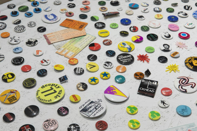 A l'expositionPunk Graphics. Too Fast to live, Too Young to die, jusqu'au 26avril2020 à l'ADAM-Brussels Design Museum.