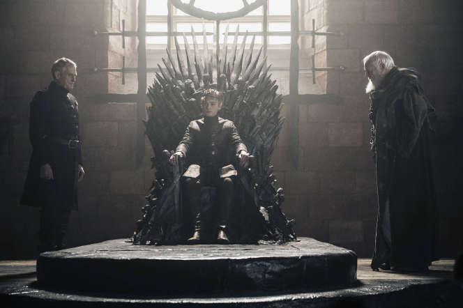 Julian Glover, Dean-Charles Chapman, Ian Gelder dans la série« Game of Thrones».