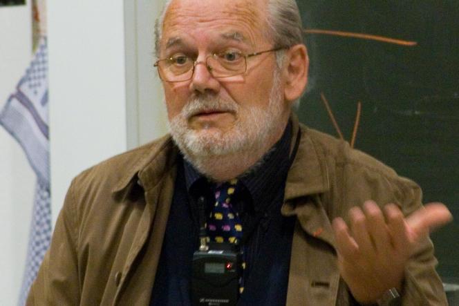Michel Brunet, le 10 septembre 2008 à l'université de Fribourg en Suisse.