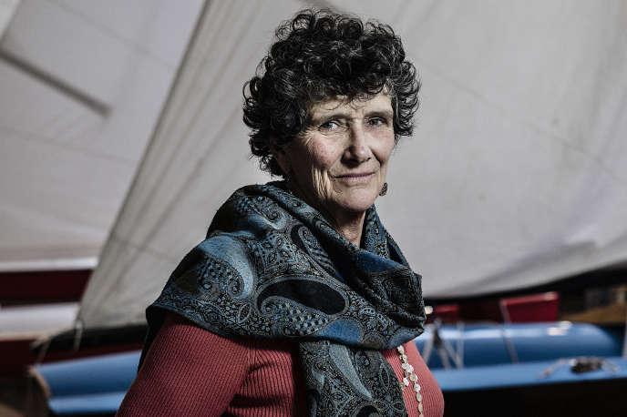 Isabelle Autissier, au musée de la Marine, à La Rochelle