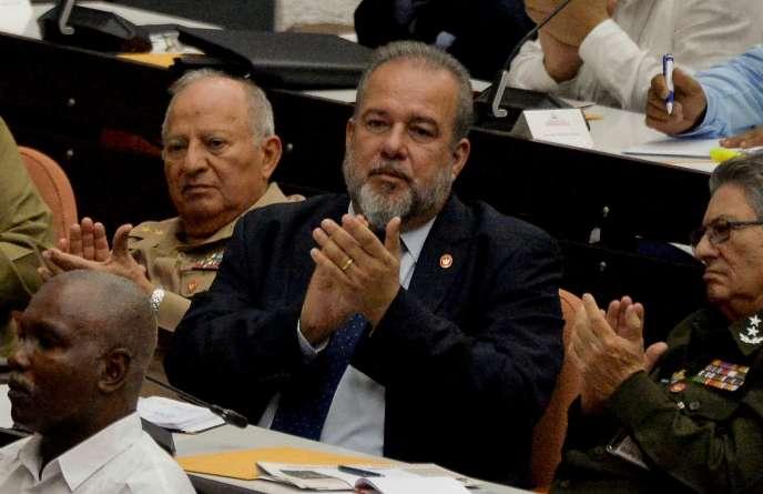 Le nouveau premier ministre cubain, Manuel Marreo, le 21 décembre à La Havane.