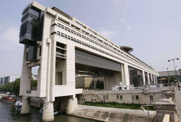 Le ministère de l'économie à Paris-Bercy en 2005.