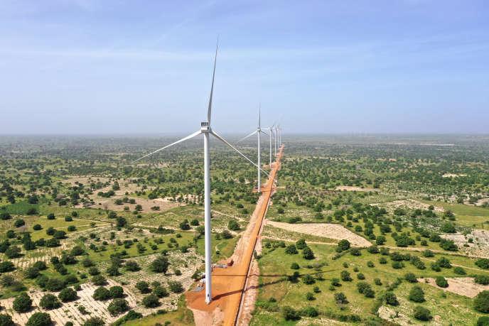 Le parc éolien de Taiba NDiaye est la plus grande ferme d'Afrique de l'Ouest, conçue pour produire de l'électricité pendant au moins 20 ans.