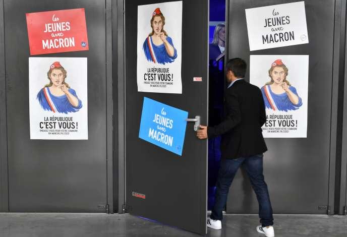 Réunion LRM en vue des élections municipales de 2020, à Bordeaux, le 7 septembre.