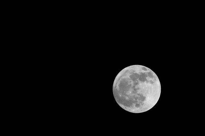 La lune, le 11 décembre.