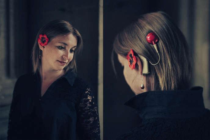 «Nathalie, de dos et de face», photographies extraites de l'exposition« Tes yeux sur mes oreilles».
