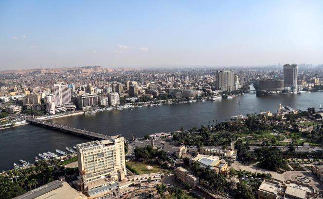 Le Nil traverse le Caire, la capitale égyptienne.