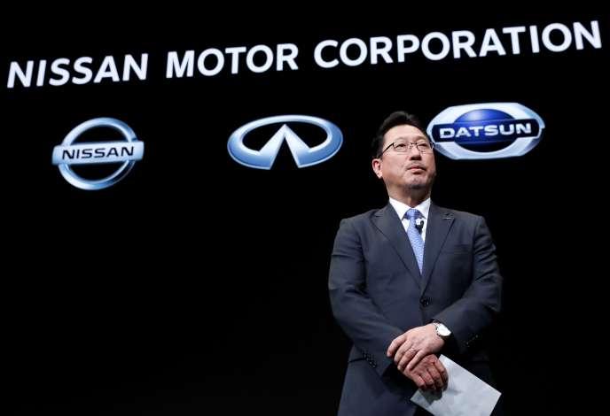 Jun Seki, le vice-directeur des opérations du constructeur automobile japonais Nissan, à Yokohama, au Japon, le 2 décembre.