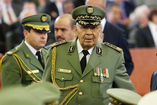Le général Ahmed Gaïd Salah, le 19 décembre 2019.