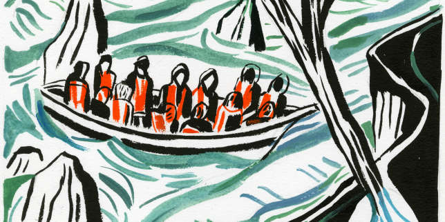 Maryline Desbiolles: «Je porte le deuil de Lampedusa»