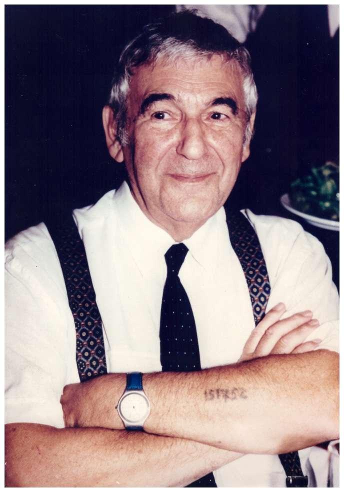 Haïm Vidal Sephiha, en 1995.