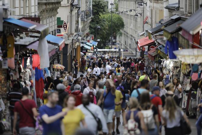 Quartier Montmartre, à Paris, en août 2019.