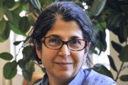 L'universitaire franco iranienne Fariba Adelkhah en 2012 est en détention en Iran depuis un an et vient d'être condamnée à cinq ans de prison.