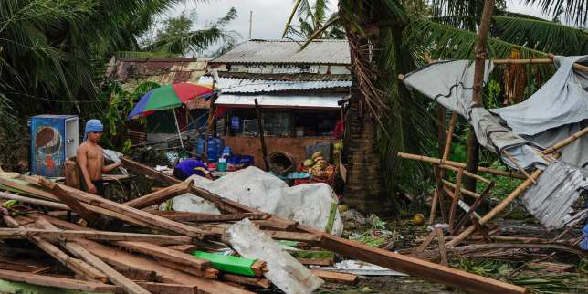 Au moins seize morts après le passage du typhon Phanfone aux Philippines
