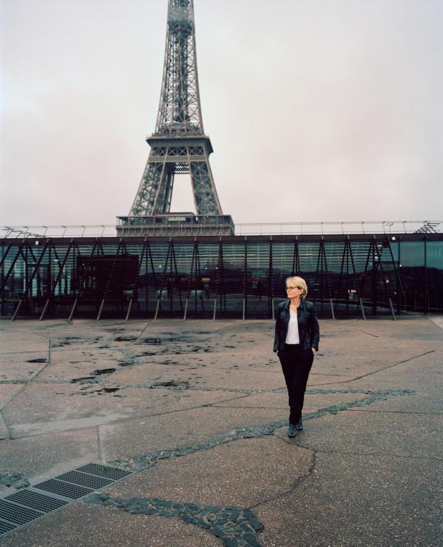Claude Chirac au Musée du Quai Branly à Paris, le 16 décembre.