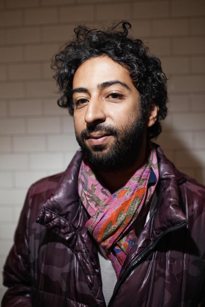 Omar Radi le 5 octobre 2013.