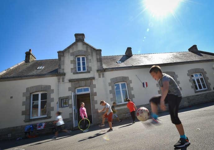 Dans une école de Guérande (Loire-Atlantique), en septembre 2018.