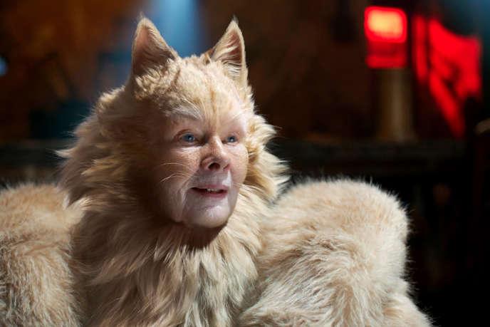 Judi Dench dans« Cats», réalisé par Tom Hooper.