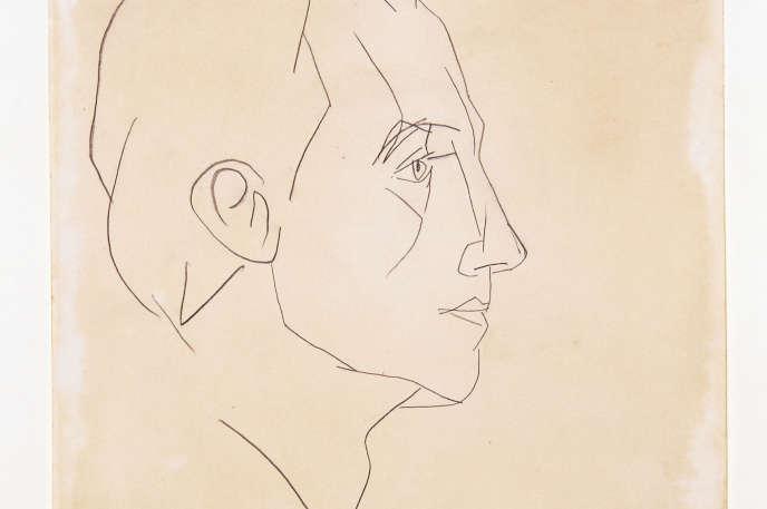 Portrait de Paul Eluard (1936) par Picasso.