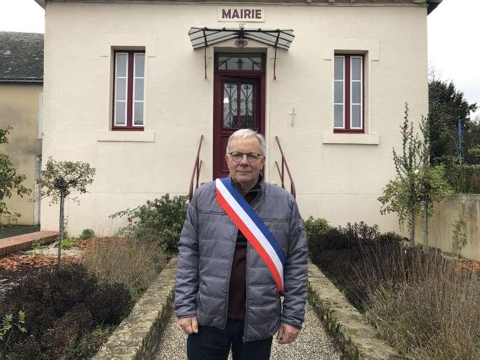 Henri Boivin, maire de Saint-Laurent-les-Mortiers, en décembre 2019.