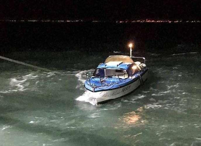 Lundi 30décembre, un bateau avec des migrants à son bord a tenté de traverser la Manche pour gagner l'Angleterre.