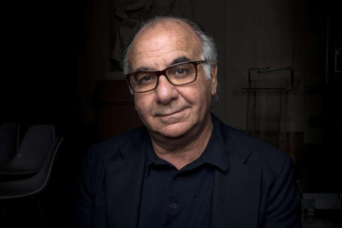 Le PDG et fondateur de Mama Shelter, Serge Trigano, à Paris, en octobre 2012.