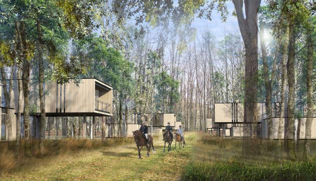 Le projet du Chambord Country Club à La Ferté-Saint-Cyr (Loir-et-Cher) compte 565 villas signées Jean-Michel Wilmotte.