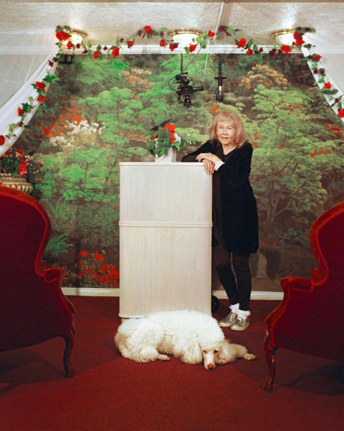 Charolette Richards dans sa Little White Chapel, une référence du business du mariage à Las Vegas, le 7 octobre 2019.