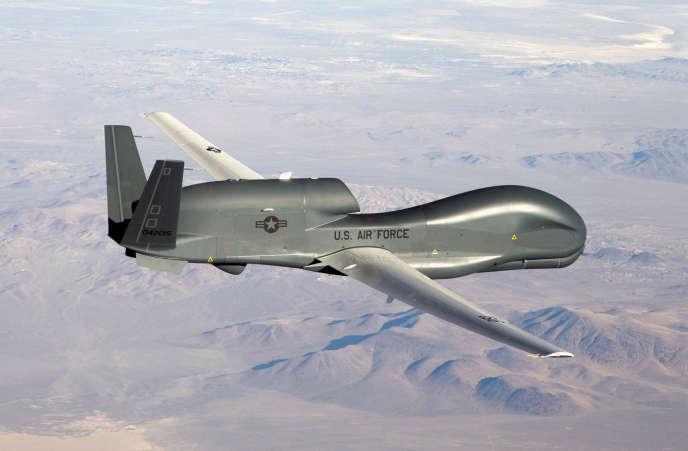 Un drone militaire américain RQ-4 Global Hawk.