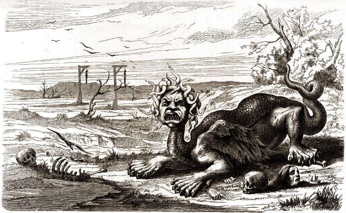 Figure allégorique de la Fronde. Gravure de l'«Histoire populaire de la France», de Lahure (1864).
