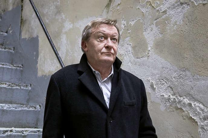 Jean Echenoz, à Paris, le 26 décembre.