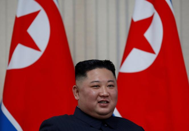 Le dirigeant nord-coréen Kim Jong-un, à Vladivostok (Russie), le 25 avril 2019.