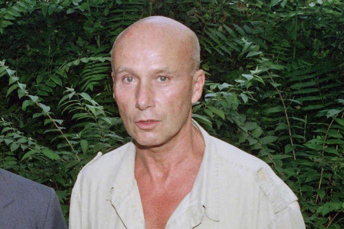 L'écrivain Gabriel Matzneff , le 12 juillet 1990, à Paris.