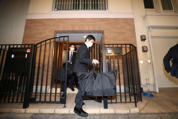 Perquisition au domicile de Carlos Ghosn à Tokyo, le 2 janvier.