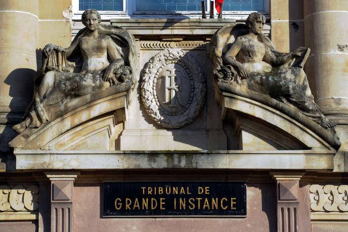 Le tribunal de grande instance de Belfort, le 24 janvier 2014.