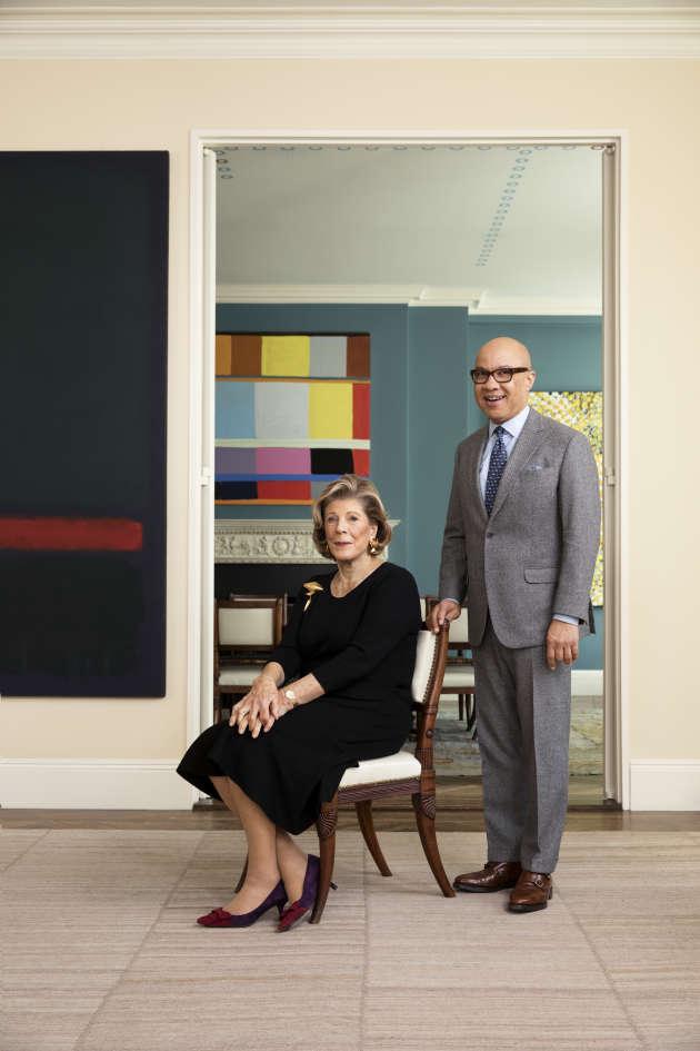 La collectionneuse Agnes Gund et le président de la Fondation Ford, Darren Walker, ont fondé, en 2017, l'association Art for Justice Fund.