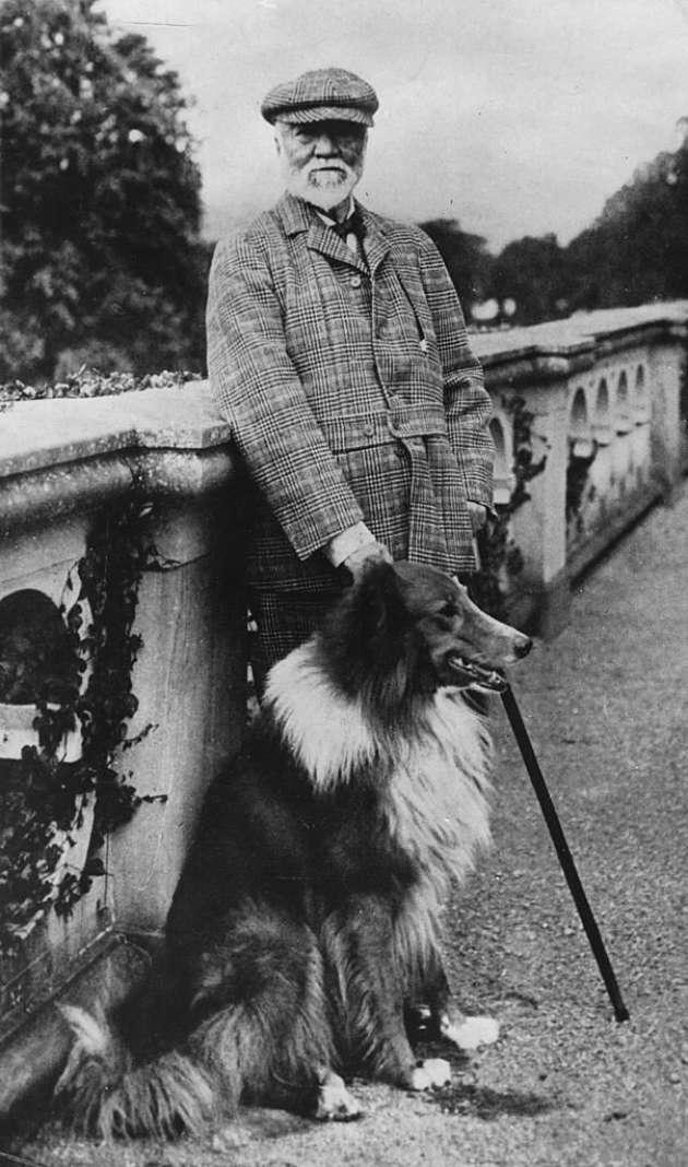 Andrew Carnegie (1835-1919).