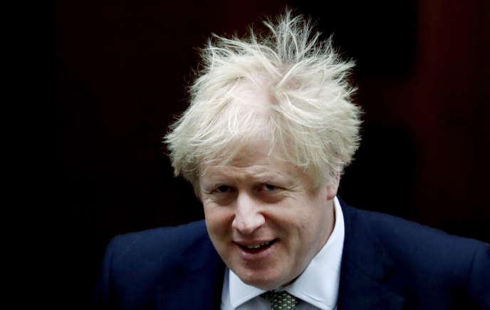 Le premier ministre Boris Johnson, en décembre 2019 à Londres.