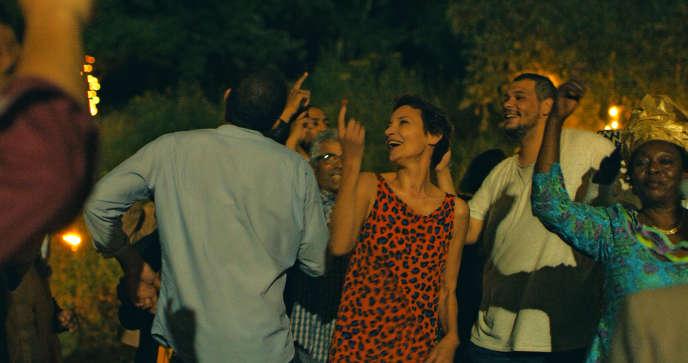La cinéaste joue le rôle de Joëlle, dans son film.
