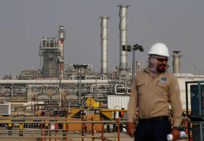 La raffinerie Aramco d'Abqaïq, dans l'est de l'Arabie saoudite, le 12 octobre 2019.
